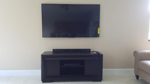 Basic TV Mount and Sound System