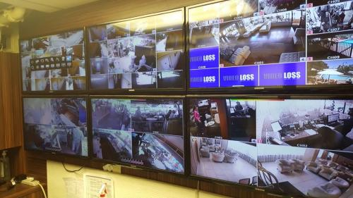 Security Camera Multiple Screens