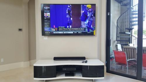 TV & Sound System Setup